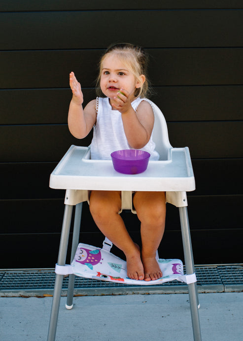 On Footrests and Eating in the Ikea High Chair