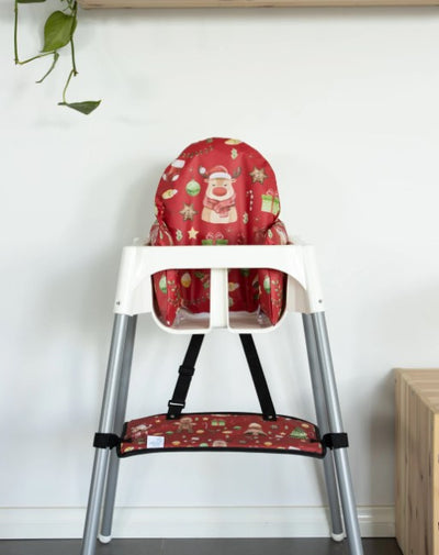 Add some flare to your IKEA highchair this Festive Season
