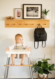 Pre order shipped 25th Jan Footsi® - Eco-friendly Bamboo Adjustable Highchair Footrest - The Woodsi Footsi™