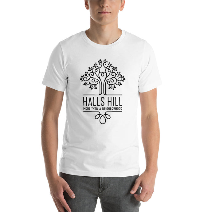 Halls Hill Logo Short-Sleeve Unisex T-Shirt