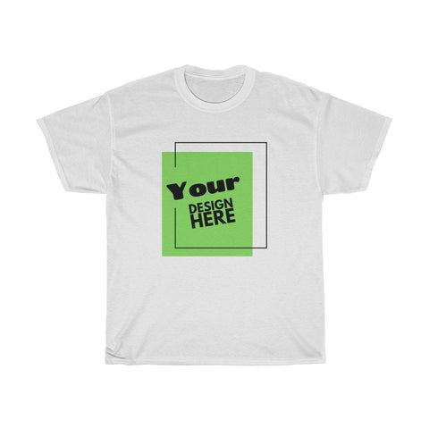Your Design Here Unisex Heavy Cotton Tee (Gildan 5000)