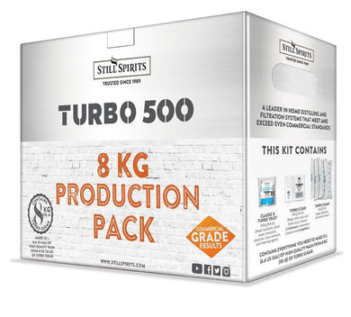 Turbo 500 Production Pack w/ Turbo Carbon (8kg)