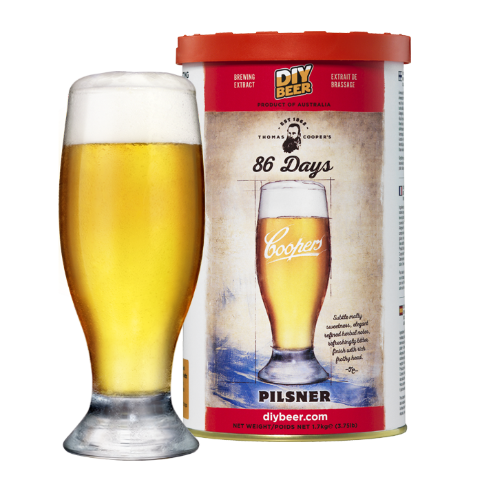 CO Thomas Coopers 86 Days Pilsner
