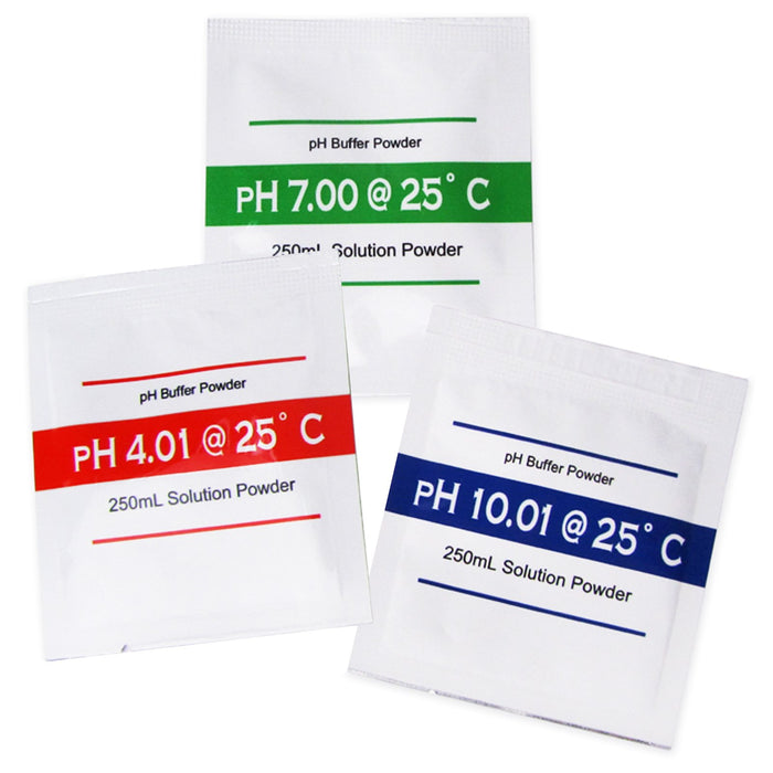 pH Buffer Solution Powder x 3