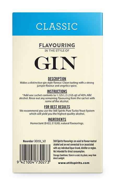 SS Classic Gin Flavouring