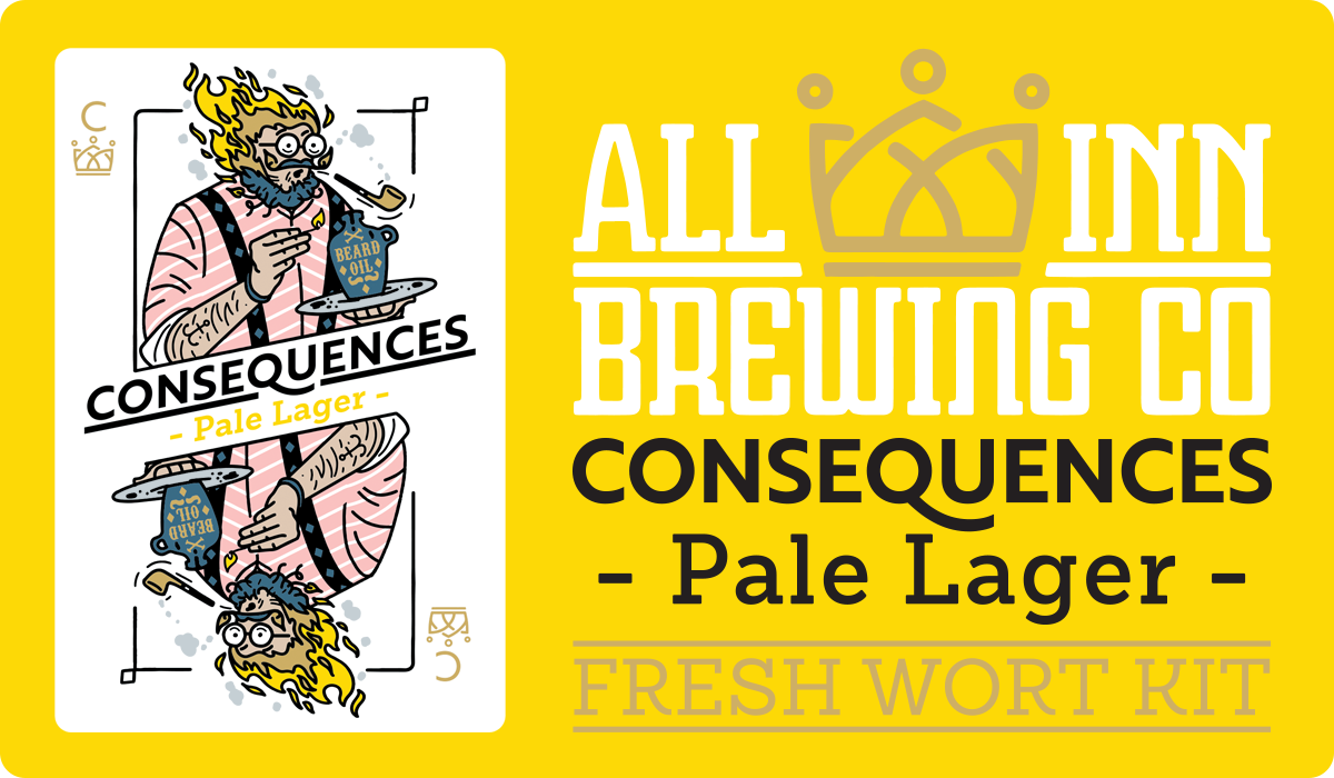 All In Brewing Consequences Pale Lager