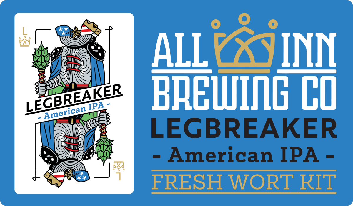 All In Brewing Legbreaker American IPA