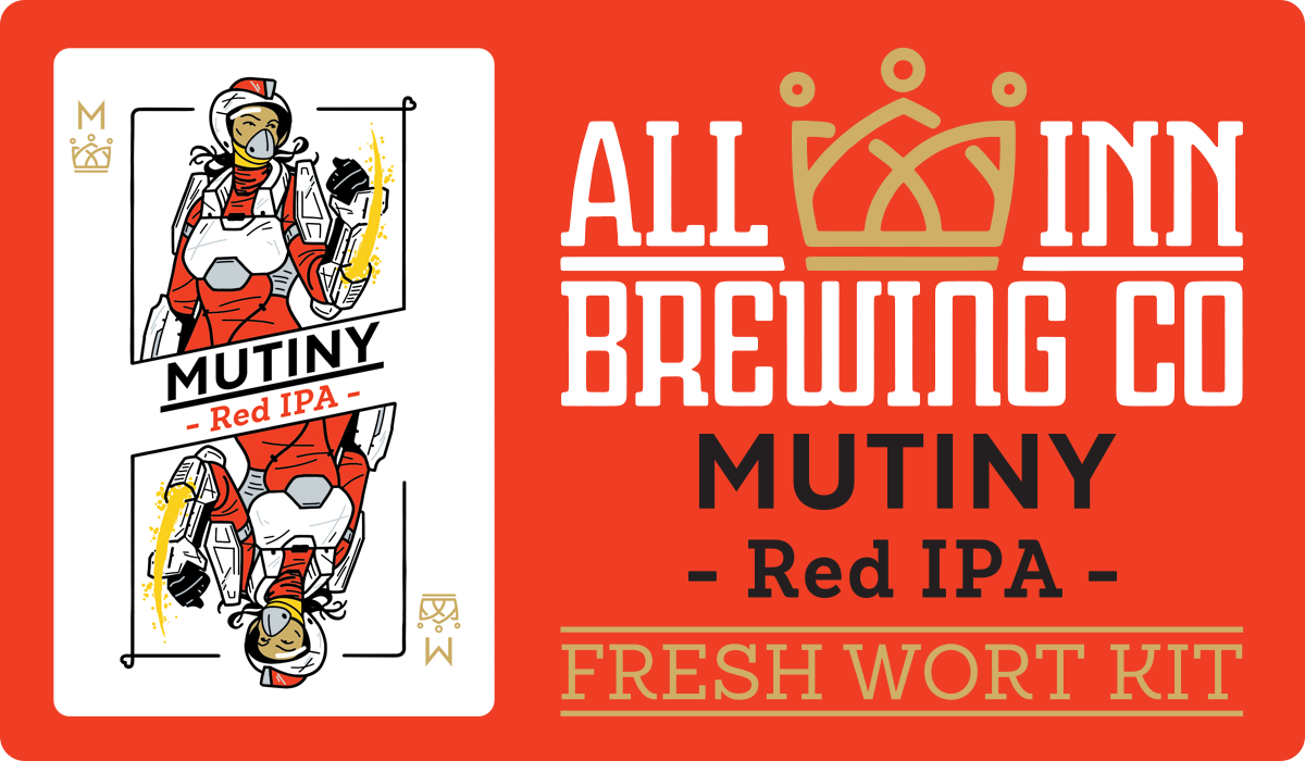 All In Brewing Mutiny Red IPA