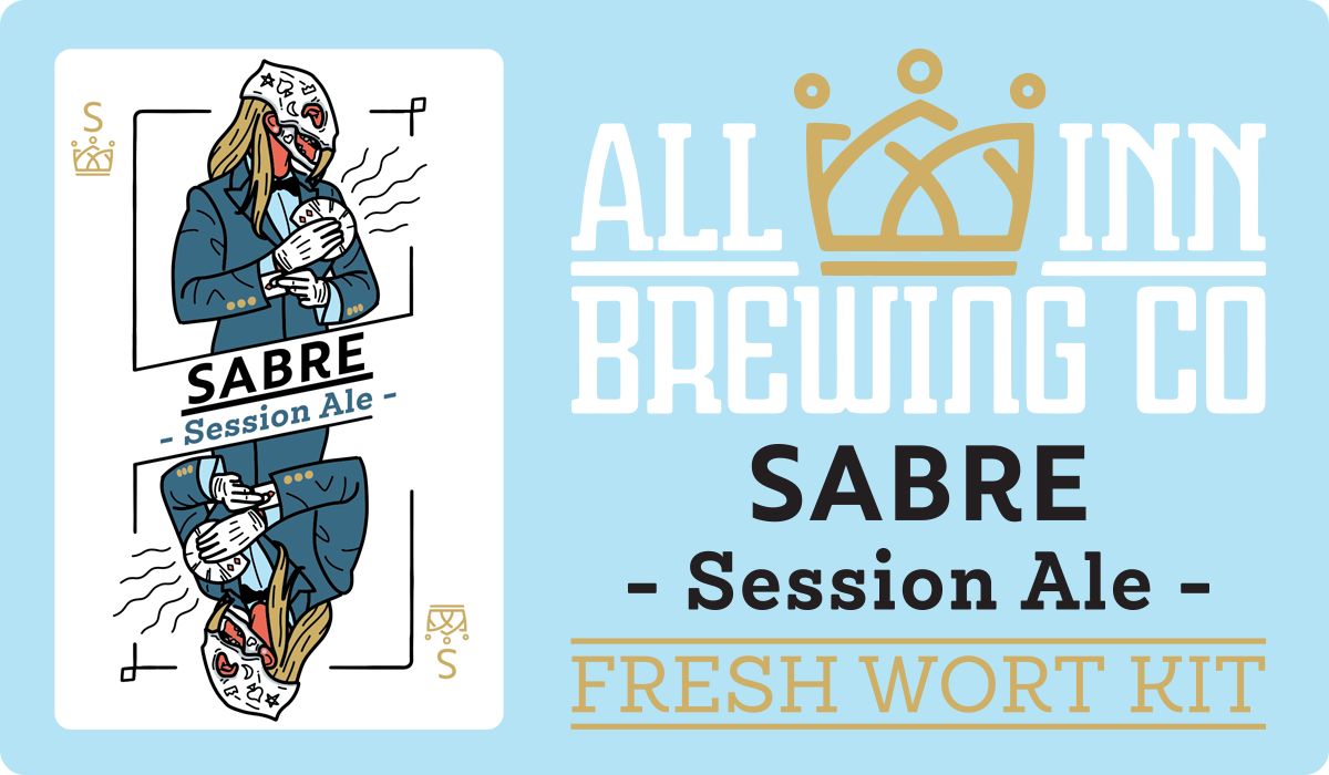 All In Brewing Sabre Session Ale FWK