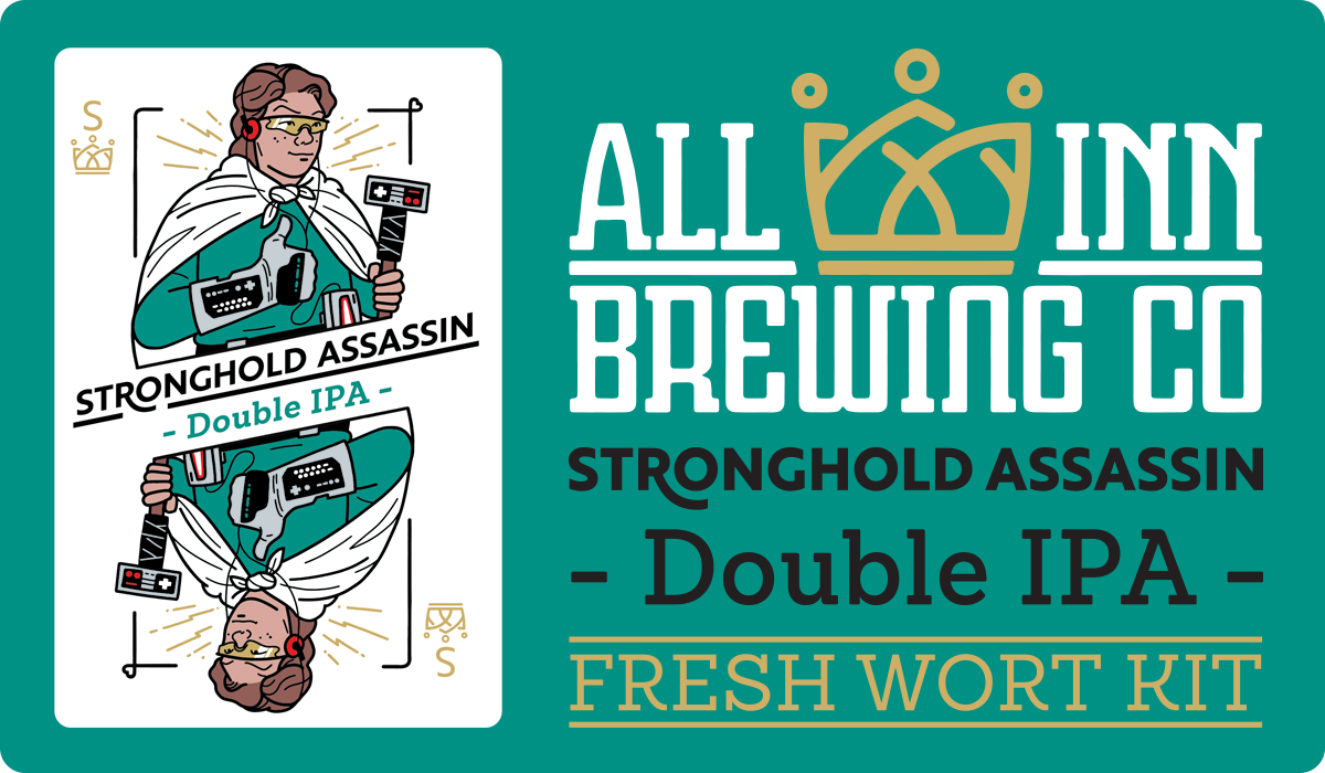 All In Brewing Stronghold Assassin Double IPA