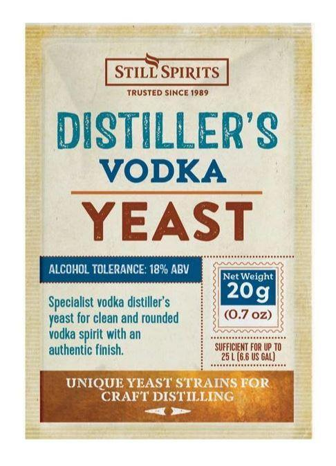 Distiller's Yeast Vodka