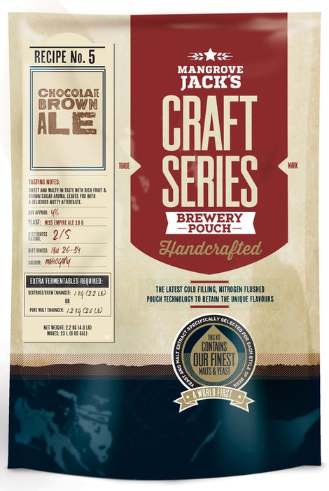MJ Chocolate Brown Ale
