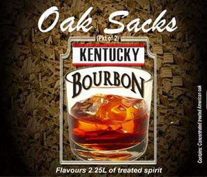 Kentucky Bourbon Oak Sacks