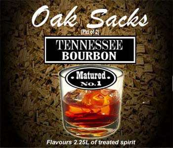 Tennessee Bourbon Oak Sacks
