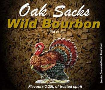 Wild Bourbon Oak Sacks