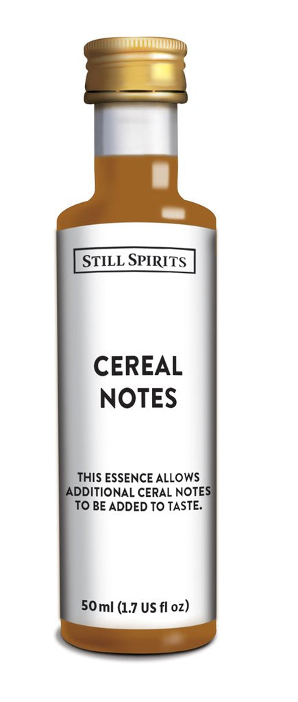 SS Cereal Notes
