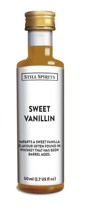 SS Whiskey Profiles Sweet Vanillin
