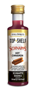 SS Top Shelf Hot Cinnamon Schnapps Flavouring