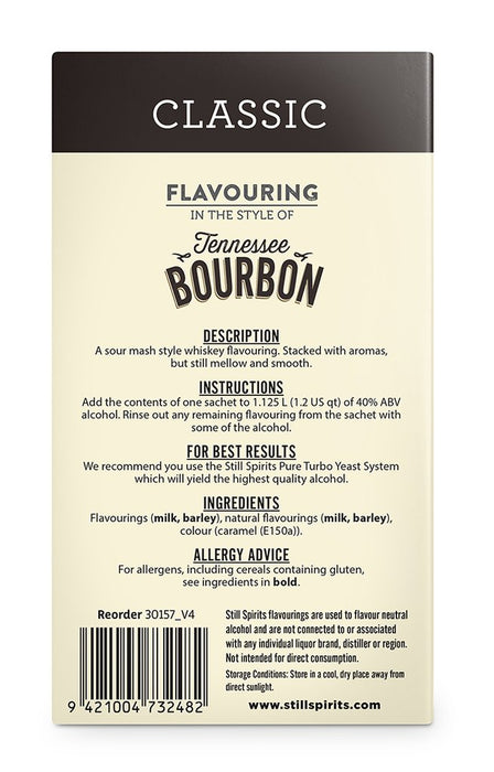 SS Classic Tennessee Bourbon Flavouring