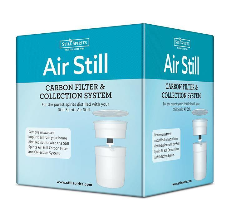 Air Still Carbon Filter and Collection System