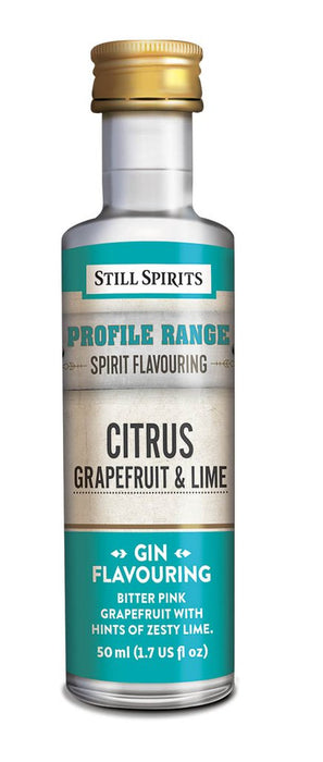 SS Gin Profile Citrus - Grapefruit and Lime
