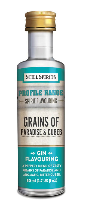 SS Gin Profile Grains Of Paradise and Cubeb Flavouring