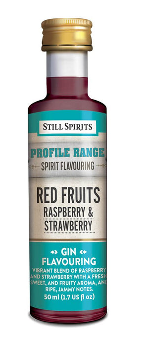 SS Gin Profile Red Fruits - Raspberry and Strawberry