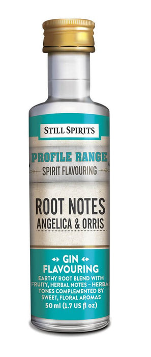 SS Gin Profile Root Notes - Angelica and Orris