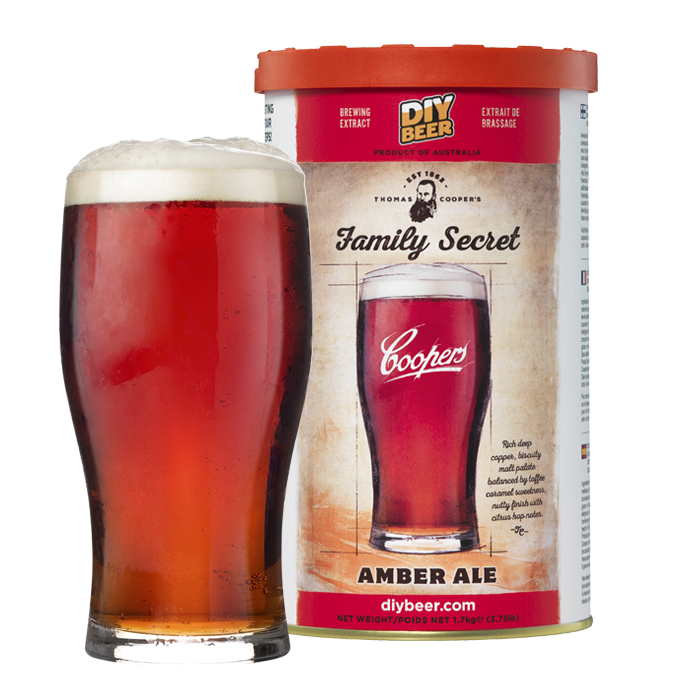 CO Thomas Coopers Family Secret Amber Ale