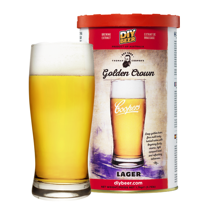 CO Thomas Coopers Golden Crown Lager