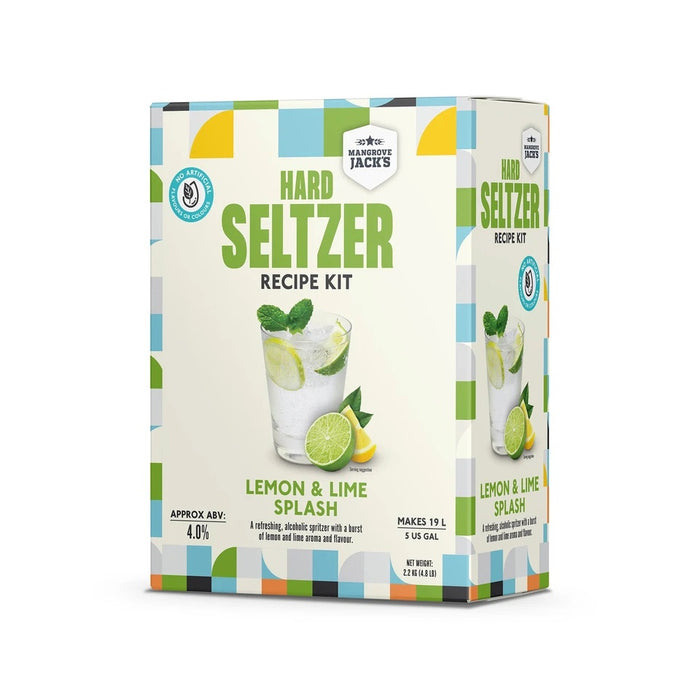 MJ Lemon and Lime Hard Seltzer