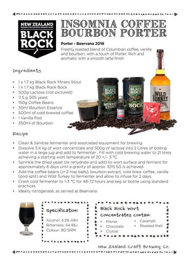 Insomnia Coffee Bourbon Porter Recipe
