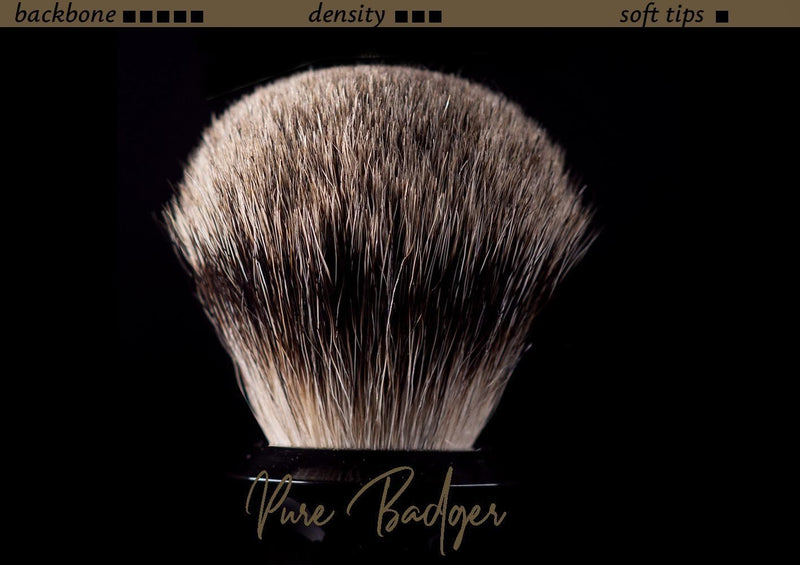 Tuft option for handmade shaving brush - Pure Badger