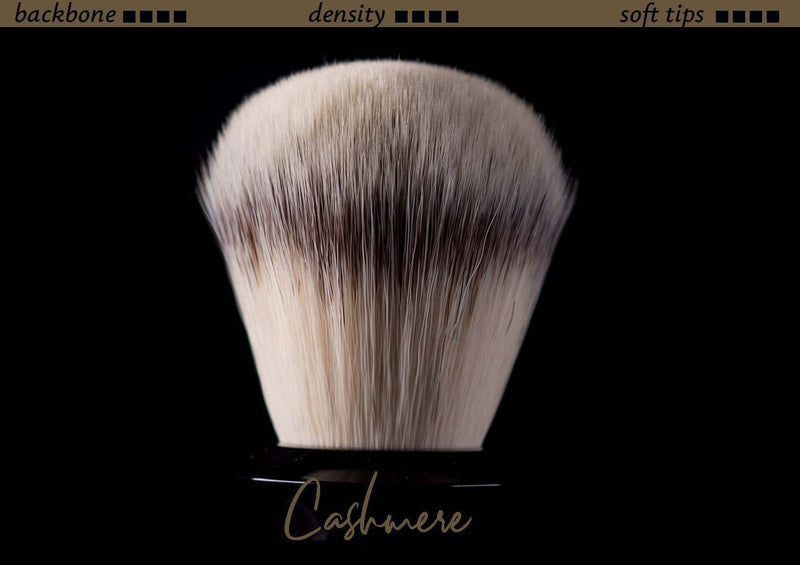 Tuft option for handmade shaving brush - Synthetic Cashmere