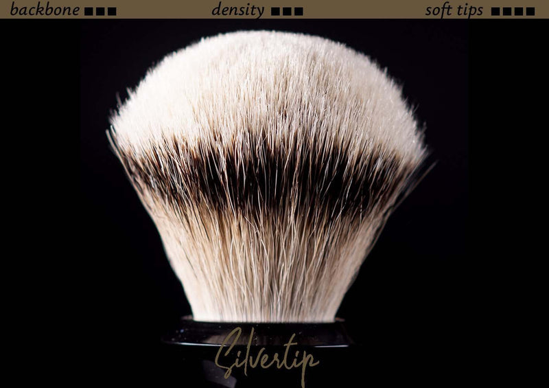 Tuft option for handmade shaving brush - Silvertip Badger