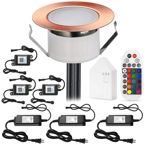 Bluetooth networking LED Deck Lights Kit for Dear Quamrul