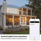 WiFi Recessed Lighting,Alexa Google Home Wireless Smart Phone RGB Lights