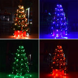 Decorative LED Garland Christmas Lights Outdoor Fairy Lights Tree Dazzler Ball 48LED String Lights for Christmas Tree Decoration