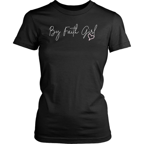By Faith Girl Signature Tshirt