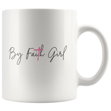 By Faith Girl Mug
