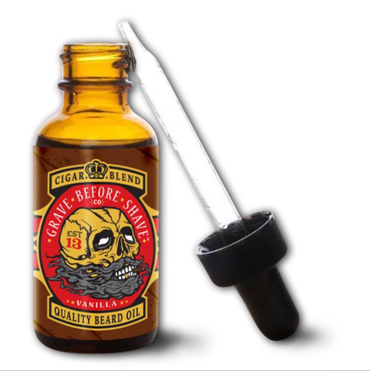 "Grave Before Shave Cigar blend Beard Oil ""Vanilla"""