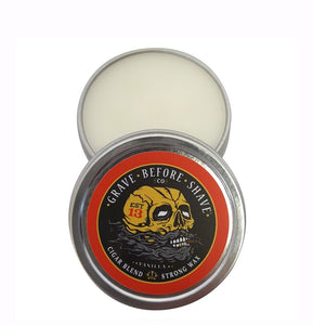"Grave Before Shave Cigar Blend Strong Wax ""Vanilla"""