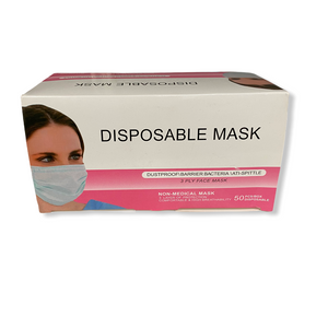 Disposable Pink Mask
