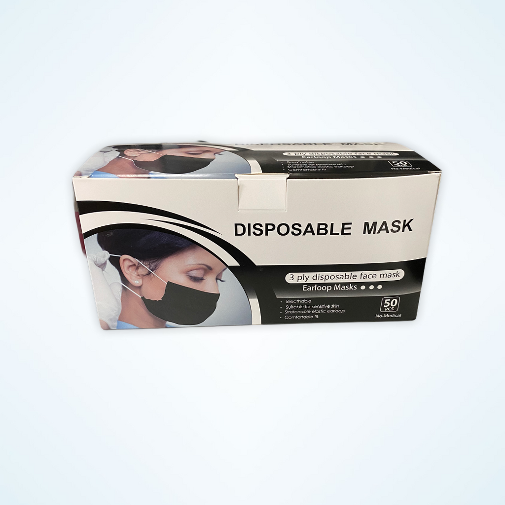 Disposable Black Mask