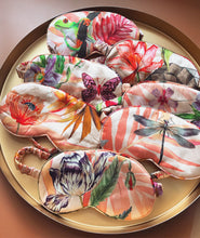 Load image into Gallery viewer, Luxury Silk Satin eye mask with botanical designs, from the Mysa selfcare collection
