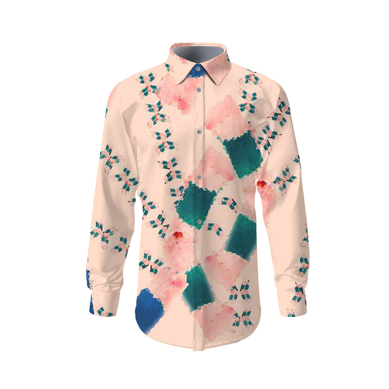 Pastel Watercolours Designer Shirt