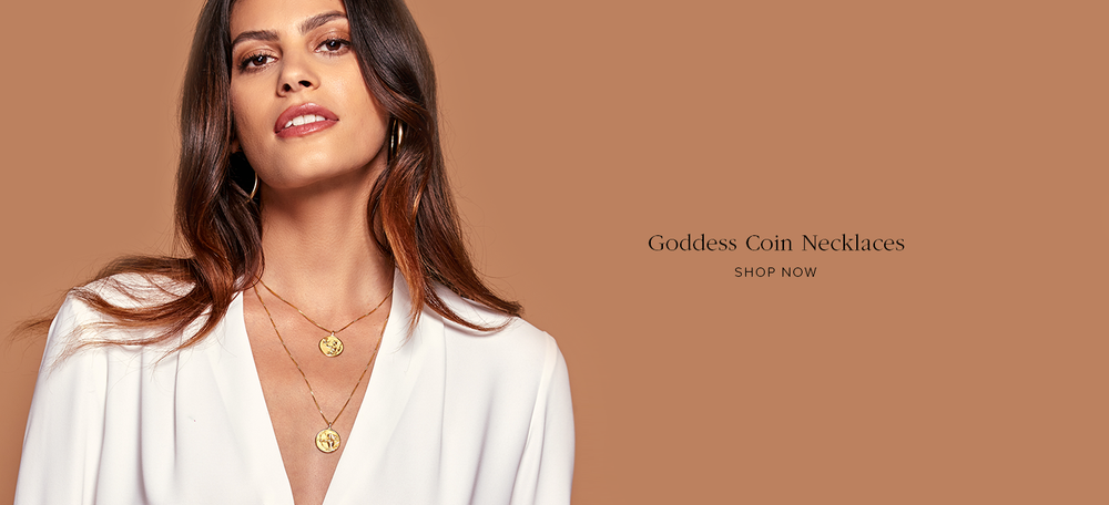 Goddess Coin Necklaces