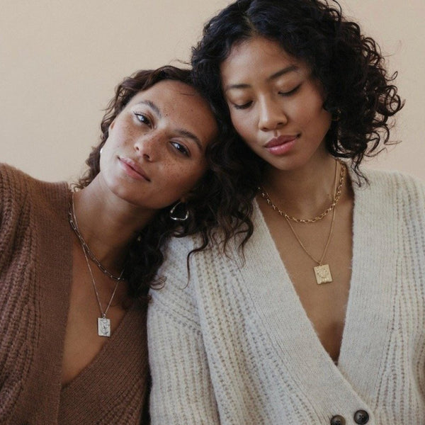 "Le Duo - ""The Duo""-Necklaces-Awe Inspired"