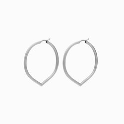 MEDIUM POINTED HOOP-Earrings-Awe Inspired