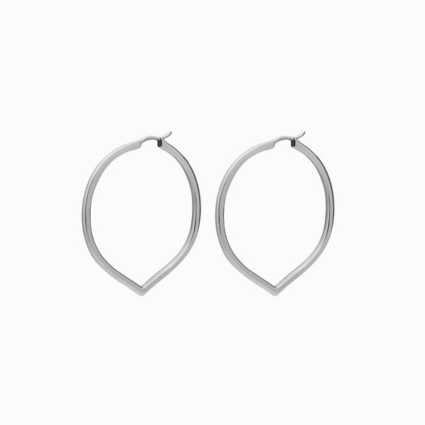 Medium Pointed Hoop-Awe Inspired